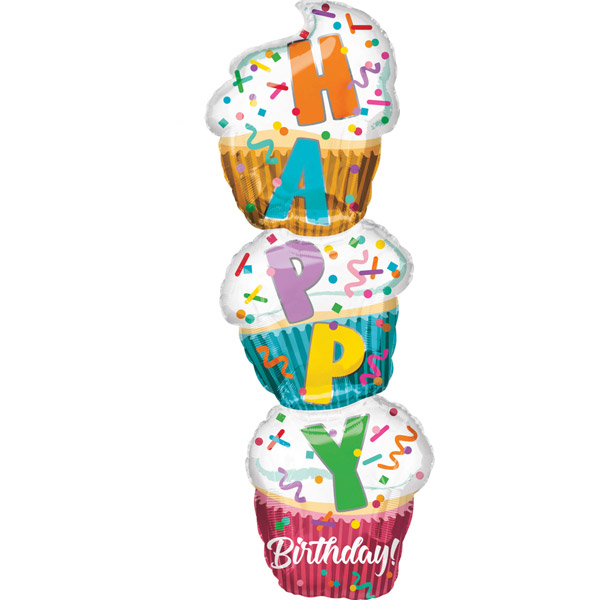 Balon folija SuperShape Cupcake