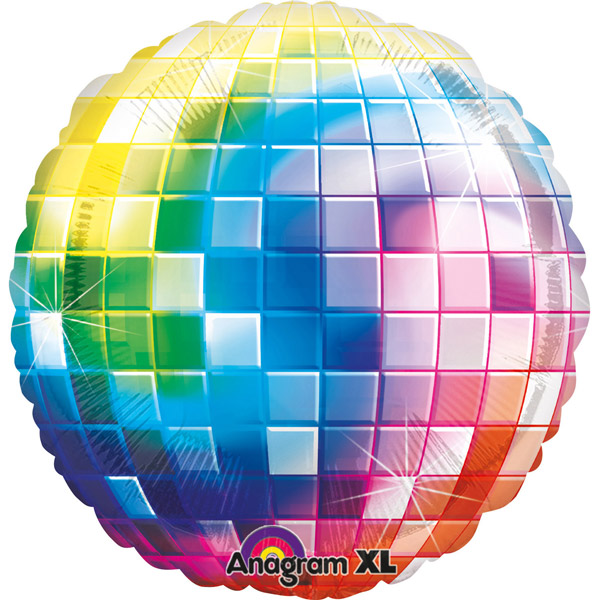 Balon folija Jumbo XL Disco