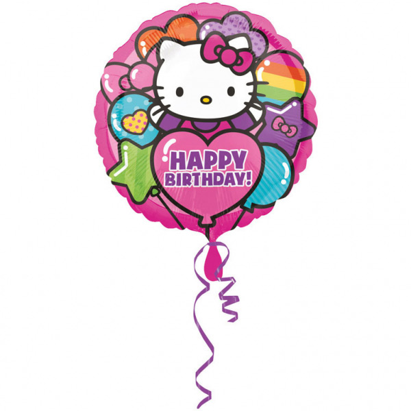 Balon Folija Hello Kitty