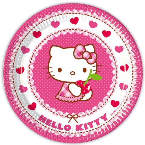 Krožniki - Hello Kitty